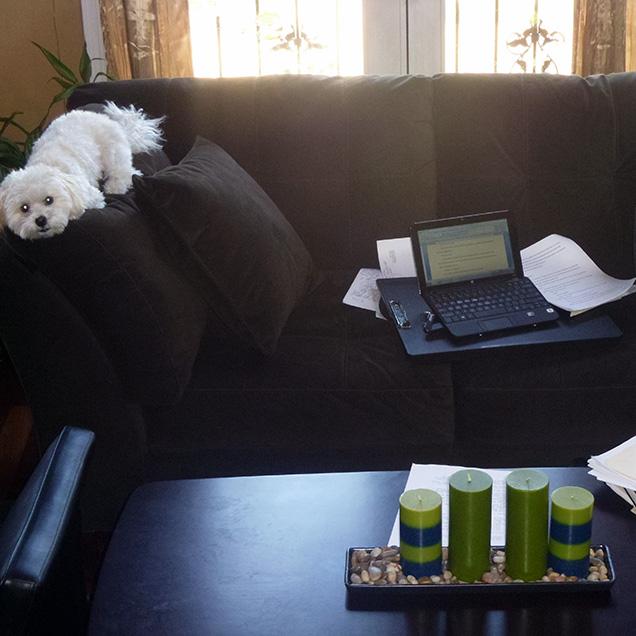 Cyn Vargas's desk