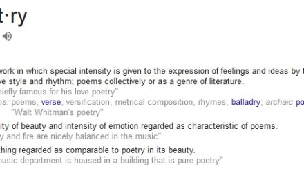 Thank you for publishing poetry