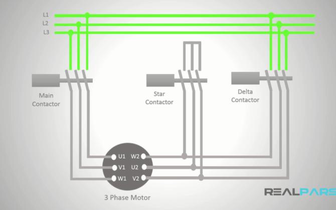 startdelta starter wiring diagram archives  plc