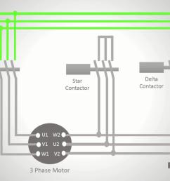 wiring diagram star deltum starter [ 1366 x 768 Pixel ]