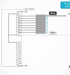 how to wire discrete dc sensors to plc part 1 plc programming rh realpars com 24 volt dc wiring diagram 24vdc transformer [ 1893 x 1055 Pixel ]