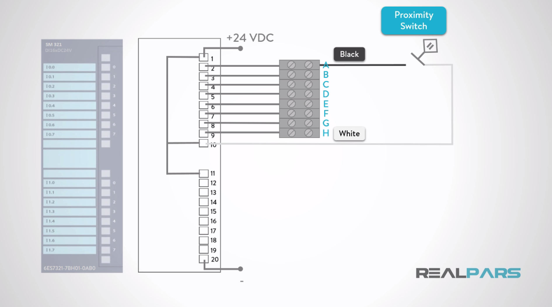 hight resolution of how to wire discrete dc sensors to plc part 1 plc programming rh realpars com 24 volt dc wiring diagram 24vdc transformer