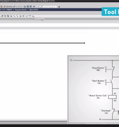 let s start converting our simple wiring diagram to the plc program in a step by step format i m using the siemens tia portal as the plc programming  [ 1295 x 730 Pixel ]