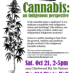 Public Meeting on Cannabis to be held in Six Nations
