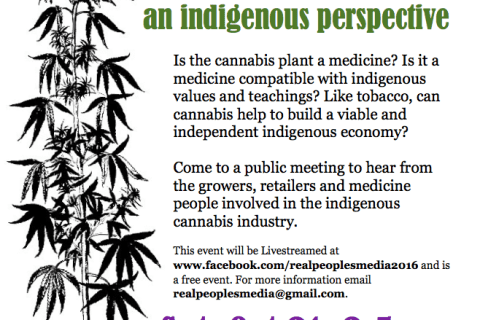 Six Nations SAO disrupts community meeting on indigenous cannabis
