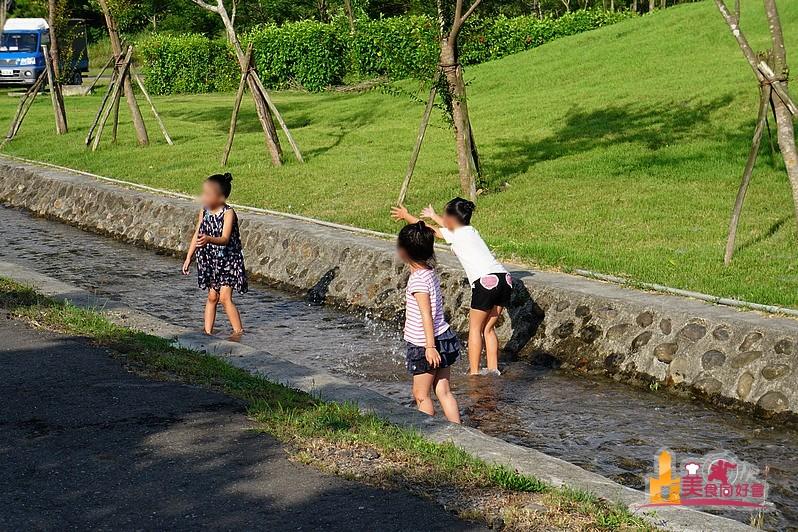 屏東潮州新景點!散步放風箏玩水~林後四林平地森林園區