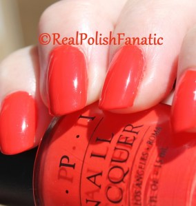 OPI - 100° in the Shade // 1998 Painted Desert Collection