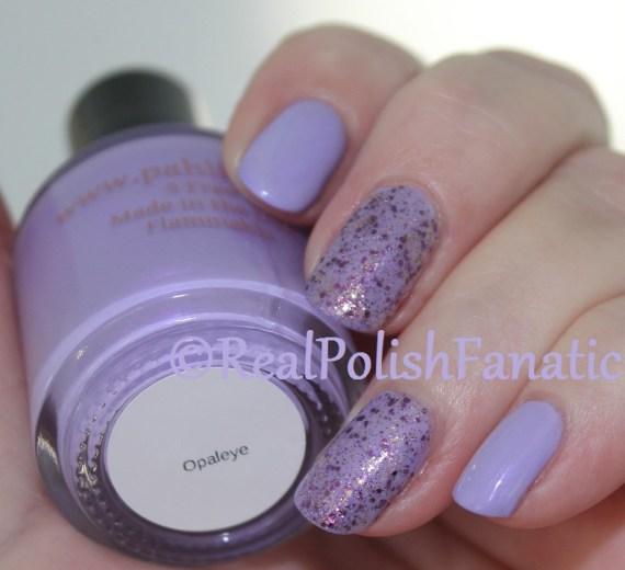 Pahlish - Opaleye & China Glaze - Let's Shell-ebrate