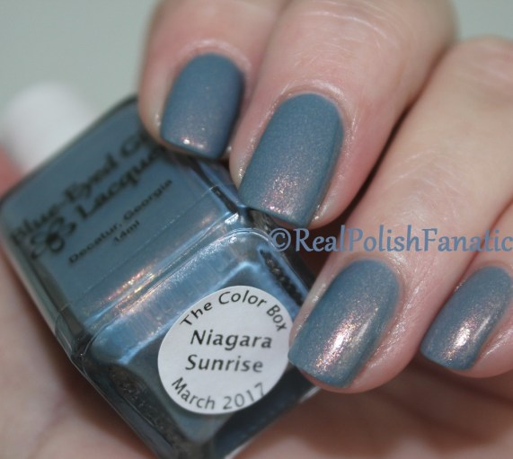 Blue Eyed Girl Lacquer - Niagara Sunrise // March 2017 Color Box