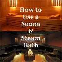 How to Use a Sauna & Steam Room at a Spa