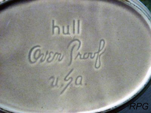 Pottery marks and signatures roseville hull watt