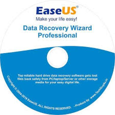 EaseUS Data Recovery Wizard 12.9.1 Crack With Registration Code Free Download 2019
