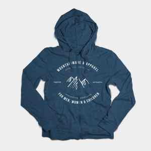 blue mountainware hoodie