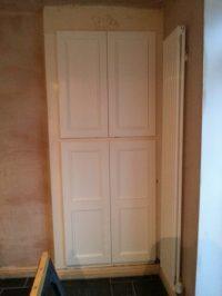 Replacing Old Dining Room Cupboard Doors