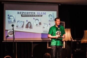 Reporter Slam Münster 2018