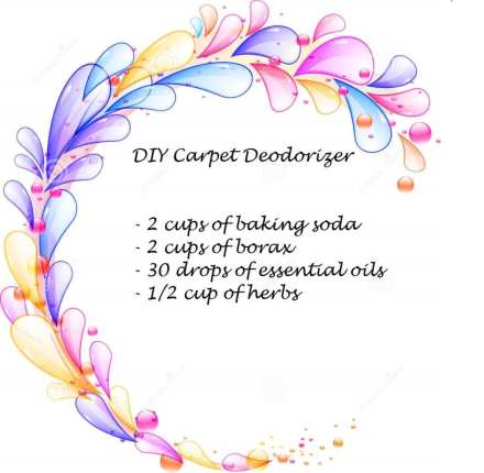natural diy carpet cleaner and deodorizer