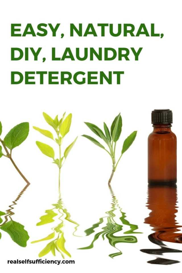DIY Natural laundry detergent