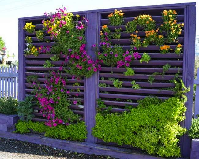 Short On Growing Space Build A Vertical Garden Your Very