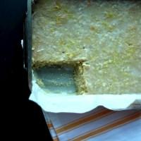Bergamot Lemon Drizzle Cake