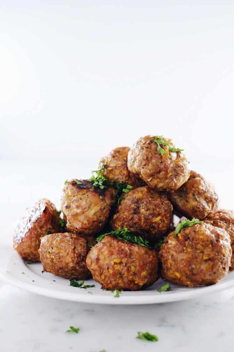 Butternut Breakfast Meatballs