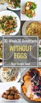 30 Whole30 Breakfasts Without Eggs