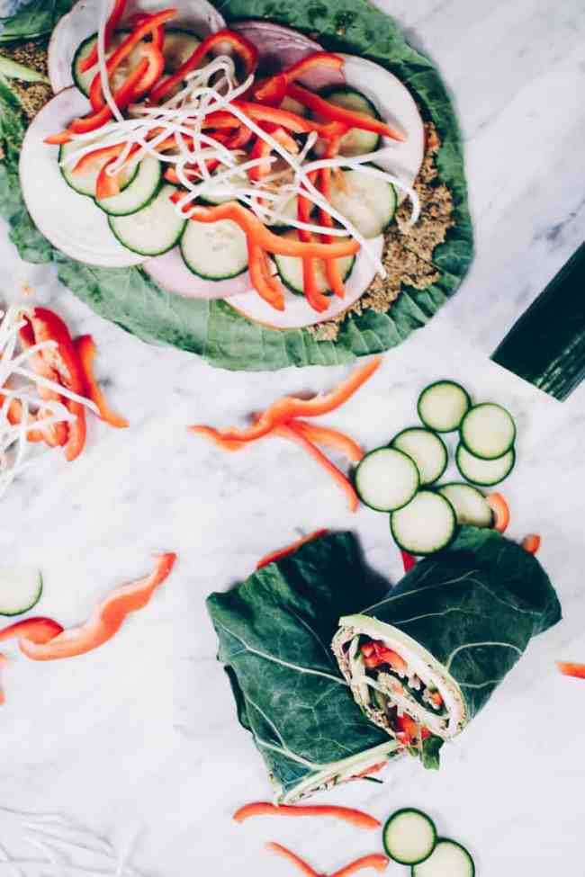 We love a tasty wrap recipe, and especially one that is both flavorful and filling. These turkey collard green wraps are exactly that - super delicious and satisfying, too! They are Paleo with options to make them Whole30 compliant too! #paleo #whole30 #easyrecipe | realsimplegood.com