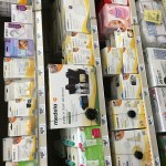 look! my grocery store had tons of Medela stuff - yay HEB!