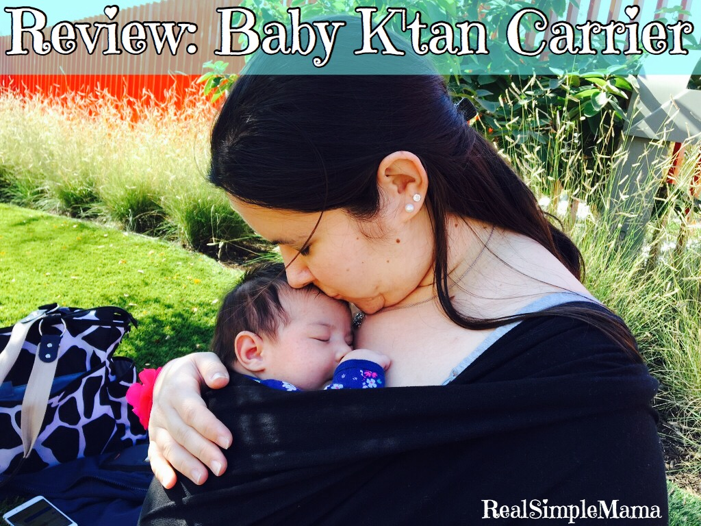 Review: Baby K'tan Original Carrier