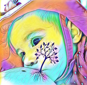 realsimplemama.com brelfie with filters with picsart baby nursing at the beach