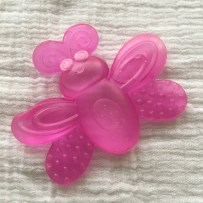 Sassy water-filled butterfly teether - Real Simple Mama