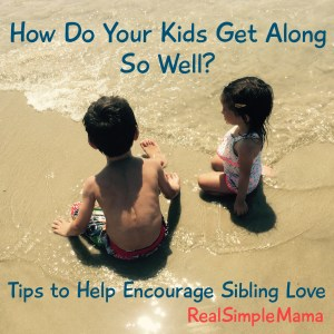How Do Your Kids Get Along So Well? Tips to Encourage Sibling Love - Real Simple Mama