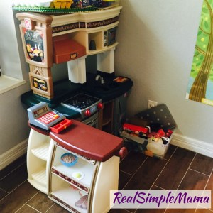 step 2 kitchen play store toys image What's In Our Playroom? Fall 2017 Edition - Real Simple Mama
