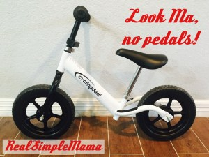 What Is A Balance Bike? - Real Simple Mama image no pedals