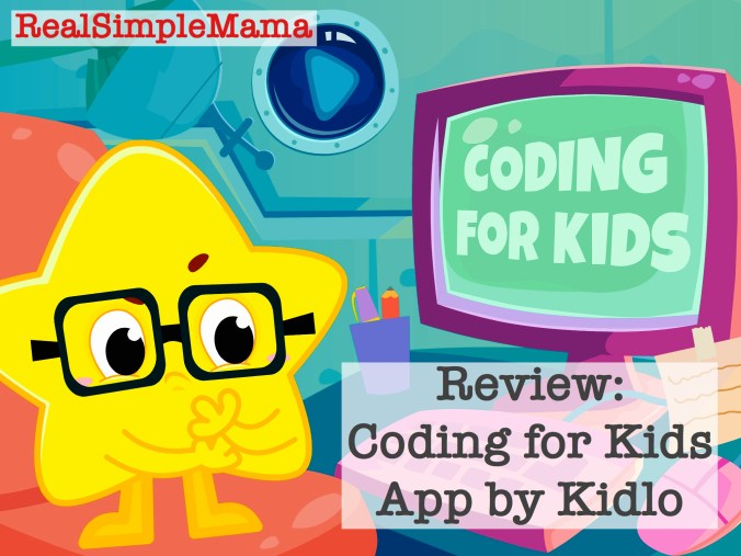 Review: Coding for Kids App by Kidlo - Real Simple Mama image game child play sample demo screen shot programing
