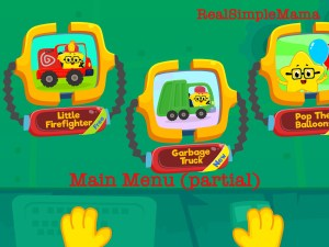 Review: Coding for Kids App by Kidlo - Real Simple Mama main menu screen child play game