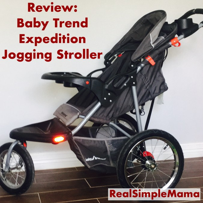 Review Baby Trend Expedition Jogging Stroller Real
