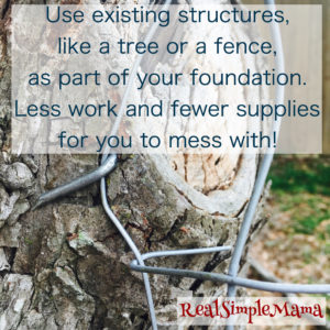How to Build a Chicken Run - Real Simple Mama