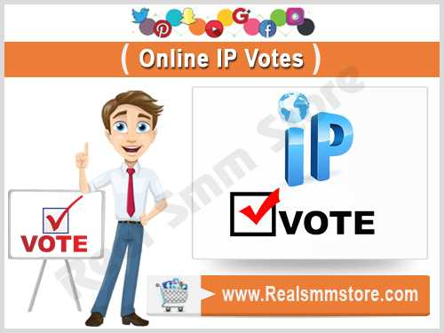 Buy Real Active IP Votes