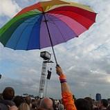 Umbrella at Hyde Park Calling rich.tee