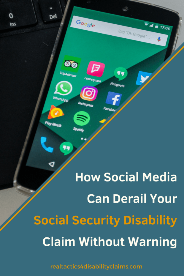 Social Media can be a great thing. It's a great way to communicate with friends but your posts can be an eye-opener to a disability claims decision maker.