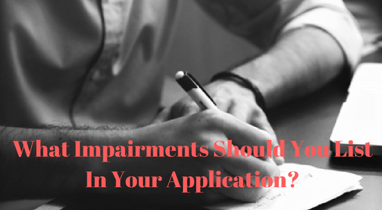 disability What Impairments Should You List In Your Application-realtactics canva free