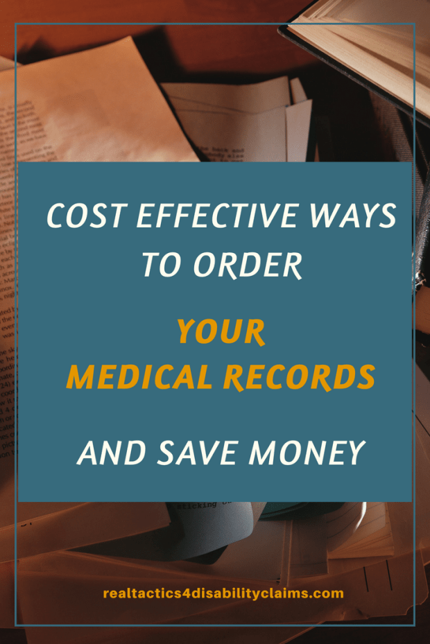 Learn how ordering your own medical records directly from your doctor can save you a lot of money in your Social Security disability claim.