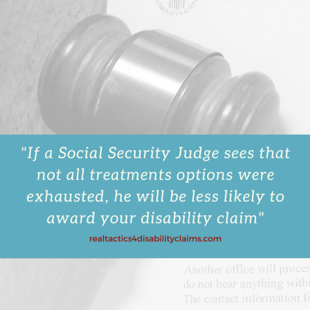 get rid of doctor X to win social security image of gavel