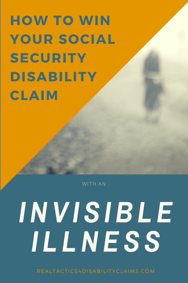 how to win your social security disability with an invisible illness