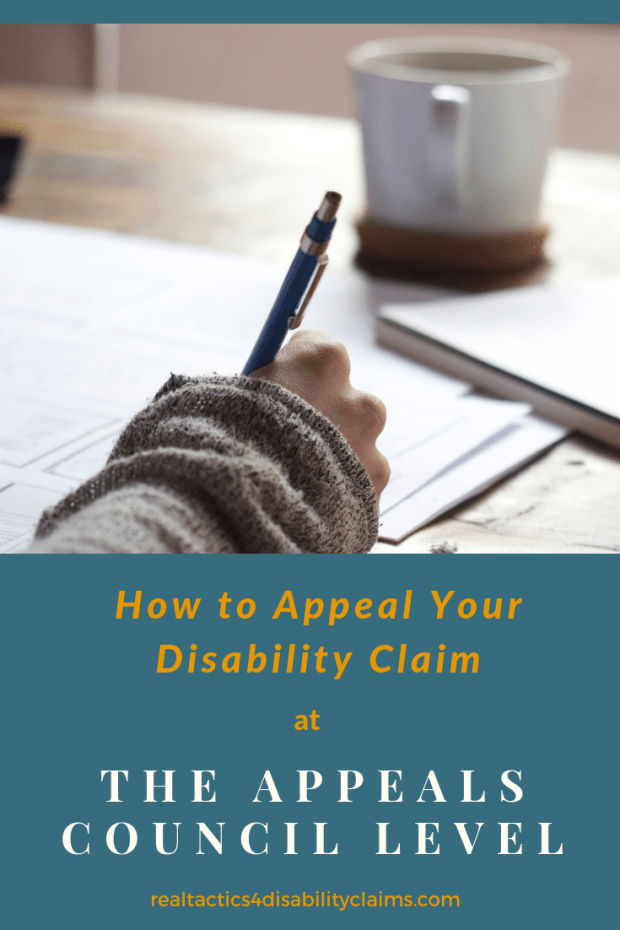 How to Appeal Your Claim at the Appeals Council Level