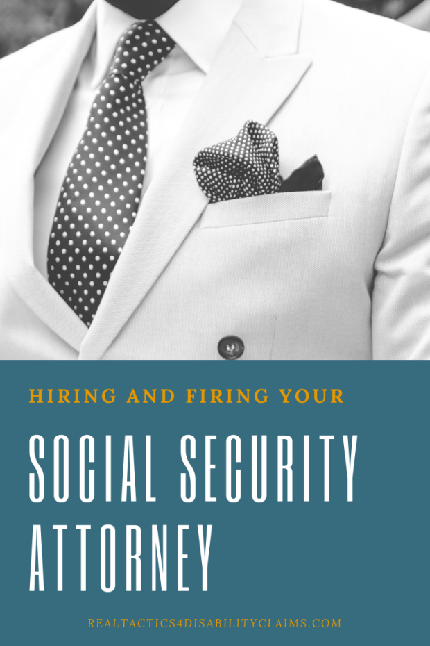 Hiring and Firing a Social Security Attorney best practices