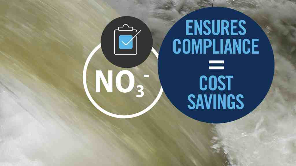 CASE STUDY: WATER SUPPLIER GAINS COMPLIANCE ASSURANCE FOR NITRATE