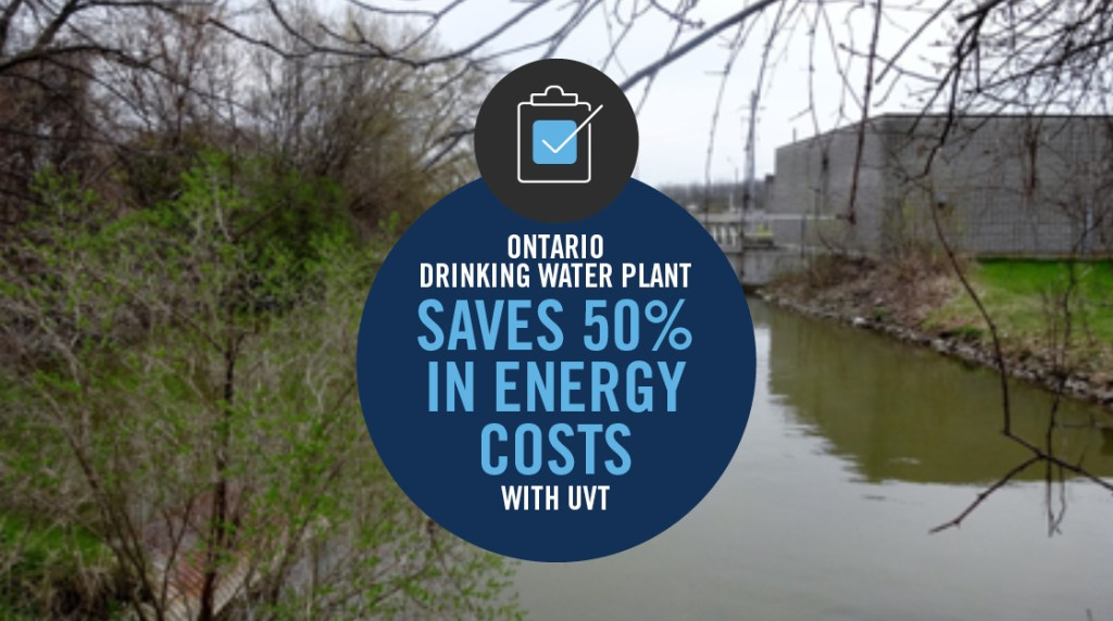 CASE STUDY: UVT ANALYZER HELPS WTP SAVE 50% IN ENERGY COSTS
