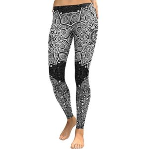Women's Mandala Print Leggings 8