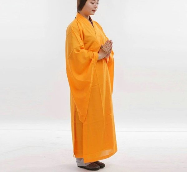 Cotton and Linen Buddhist Robe 2